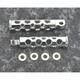 Chrome Hole Shot Style Footpegs - 27-0585