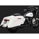 Black Daytona 400 Slip-On Mufflers - 46583