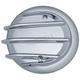 Chrome Tri-Fin Primary Cover Cap - 5726