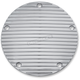 Chrome Finned Derby Cover - 9748