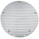 Chrome Finned Derby Cover - 9768