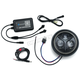 Black 5 3/4 in. Orbit Prism LED Headlight w/Bluetooth Controlled Multi-Color Halo - 2463