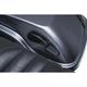 Gloss Black Quick Draw Saddlebag Latch Handle - 5193