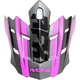 Frost Gray/Fuchsia FX17 Force Replacement Visor - 0132-1173