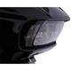 Gloss Black  Fang Headlight Bezel - 45251