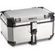 Silver/Black Trekker Outback 58 Liter Aluminum Top Case - OBK58AA