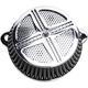 Chrome MAXXX M8 Air Cleaner w/Cover - LA-2390-03