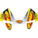 Yellow 4.1 Colorways Logo Kit - 014832
