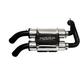 Dual Stack PowerTech 4 Slip-On Muffler - AT-9520PT