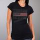Women's Black 2018 Sturgis Bling Flag T-Shirt