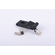 Black Rubber Replacement Trunk Latch - 058092