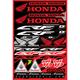 Honda CRF Decal Sheet - 40-10-100