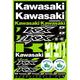 Kawasaki Decal Sheet - 40-20-100