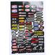 MX Logos 2 Decal Sheet - 40-90-113