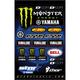 Star Yamaha Monster Decal Sheet - 40-50-117