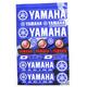 Yamaha Decal Sheet - 40-50-101