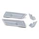 Chrome Saddlebag Extensions - 7190