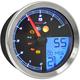 TNT-B Multi-Function Speedometer w/Silver Bezel - BA051300