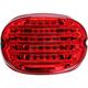 ProBeam LED Squareback Low-Profile Taillight w/Red Lens - PB-TL-SBW-R