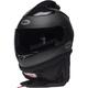 Matte Black Qualifier Forced Air Helmet