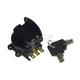 Black Fatbob Round Key Ignition Switch - 15016