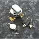 Chrome Fat Bob Mechanical Round Key Ignition Switch - 15030
