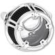 Chrome Method Clear Series Air Cleaner - 18-970