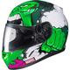 Green/White/Purple Marvel CL-17 MC-4 Hulk Helmet