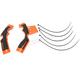 Orange/Black X-Grip Frame Guards - 2688765225