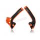Orange/Black X-Grip Frame Guards - 2686045225