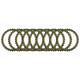 Aramid Fiber Friction Plates - 095758K