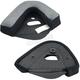 Black Bonanza Helmet Cheekpads