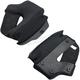 Black Lane Splitter Helmet Cheek Pads