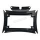 Gloss Black Maltese License Plate Frame w/Backing Plate - MWL-862-GB-OR1