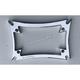 Chrome Maltese License Plate Frame - DC-862-CH