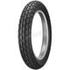 Front K180 Blackwall Tire