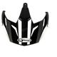 Matte Black/Dark Silver Visor for GM11D Expedition Dual Sport Helmet - G011088