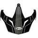 Matte White/Black/Red Visor for GM11D Expedition Dual Sport Helmet - G011090
