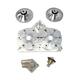 Billet Cylinder Head Kit - 04-316-H-RMK