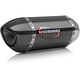 Street Series Alpha Stainless/Carbon Fiber Slip-On Muffler - 14210BM220