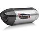Street Series Alpha Stainless/Stainless/Carbon Fiber Slip-On Muffler - 14210BM520
