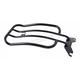 Gloss Black 7 in. Solo Luggage Rack - MWL-181GB