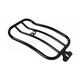 Matte Black 7 in. Solo Luggage Rack - MWL-219B