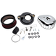 Chrome Mini Teardrop Stealth Air Cleaner Kit - 170-0435A