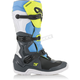 Fluorescent Yellow/White/Blue Tech 3 Boots