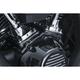 Gloss Black Kool Kaps Engine Bolt Cover Kit - 2465