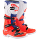 Blue/White/Fluorescent Red Tech 5 Boots