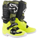 Fluorescent Yellow/Military Green/Black Tech 7S Youth Boots