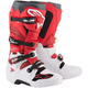 White/Red/Burgundy Tech 7 Boots