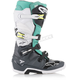 Gray/Teal/White Tech 7 Boots